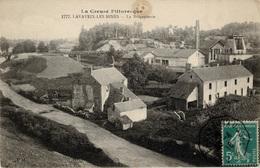 Mines, Mine : Lavaveix Les Mines - (23) Creuse - La Briquetterie Et Un Puits De Mine - Francia