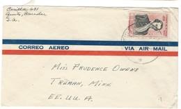 COVER CORREO AERO - VIA AIR MAIL - CASILIA TO MINNESOTA.. - Ecuador
