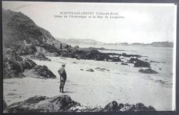 CPA 22 PLESTIN LES GREVES - Grève De L'Armorique Et La Baie De Locquirec - ND - Réf U 47 - Plestin-les-Greves