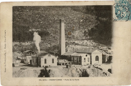 Mines, Mine : La Grand Combe - (30) Gard - Puits De La Forêt - La Grand-Combe