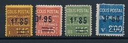 """DG-13: FRANCE: Lot """"COLIS POSTAUX"""" Avec N°119*-122*-123*-126*- - Neufs"""