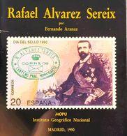 1990. RAFAEL ALVAREZ SEREIX. Fernando Aranaz. Instituto Geográfico Nacional. Madrid, 1990. - Libros, Revistas, Cómics