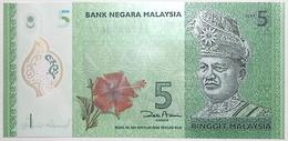 Malaisie - 5 Ringgit - 2012 - PICK 52a.2 - NEUF - Malaysie