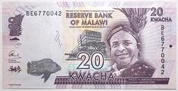Malawi - 20 Kwacha - 2016 - PICK 63c - NEUF - Malawi