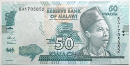 Malawi - 50 Kwacha - 2016 - PICK 64c - NEUF - Malawi
