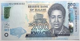Malawi - 200 Kwacha - 2016 - PICK 60c - NEUF - Malawi