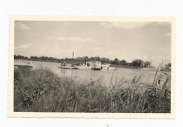 Photographie Bateau Bac Camargue Vers Saintes Maries Transport Auto  Photo 6,7x11 Cm Env - Schiffe
