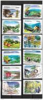 2009 - 30 - 291 à 302 - Flore Des Régions Nord - Oblitéré - Frankrijk