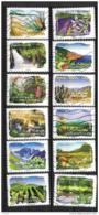 2009 - 32 - 303 à 314 - Flore Des Régions Sud - Oblitéré - Frankrijk