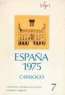 **1/2eip. 1975. Pruebas De Lujo. ESPAÑA 75 Con El TEXTO Y NUMERACION INVERTIDOS (incluídas Dentro Del Catálogo De La Exp - Variedades & Curiosidades