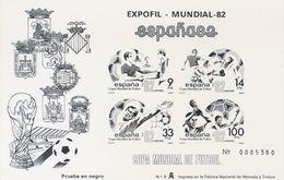 **4/5P. 1982. Pruebas De Lujo. ESPAÑA 82. MAGNIFICAS. Edifil 2019: 68 Euros - Variedades & Curiosidades