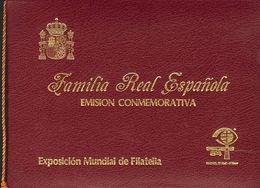 **6/7P. 1984. Carnet Conmemorativo De La Exposición ESPAÑA 84, Que Incluye Las Pruebas De Lujo. MAGNIFICO E INUSUAL. Edi - Variedades & Curiosidades