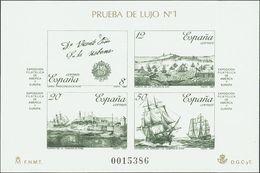 **12/13P. 1987. Pruebas De Lujo. ESPAMER 87. MAGNIFICAS. Edifil 2019: 60 Euros - Variedades & Curiosidades