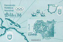 **15AP. 1988. Prueba De Lujo. EXFILNA 88. MAGNIFICA. Edifil 2018: 45 Euros - Variedades & Curiosidades