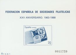 **16P. 1988. Prueba De Lujo. FESOFI. MAGNIFICA. Edifil 2020: 84 Euros - Variedades & Curiosidades