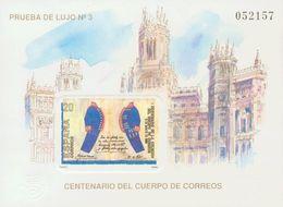**18P. 1989. Prueba De Lujo. CENTENARIO DEL CUERPO DE CORREOS. MAGNIFICA. Edifil 2019 - Variedades & Curiosidades