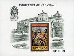 (*)19P. 1989. Prueba De Lujo. EXFILNA 89. MAGNIFICA. Edifil 2020: 51 Euros - Variedades & Curiosidades