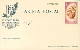 (*)EP88/89. 1960. Serie Completa Sobre Tarjetas Entero Postales. MAGNIFICAS. Edifil 2018: 106 Euros - Enteros Postales