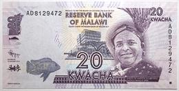 Malawi - 20 Kwacha - 2012 - PICK 57a - NEUF - Malawi