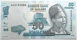 Malawi - 50 Kwacha - 2012 - PICK 58a - NEUF - Malawi
