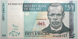 Malawi - 50 Kwacha - 2009 - PICK 53d - NEUF - Malawi