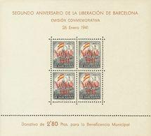 **31/32. 1941. Hojas Bloque. MAGNIFICAS. Edifil 2020: 80 Euros - Barcelona