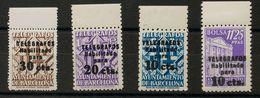 **17/20. 1942. Serie Completa, Borde De Hoja. MAGNIFICA Y RARA. Edifil 2019: 595 Euros - Barcelona