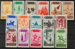 **169/85M. 1937. Serie Completa, Dieciséis Valores. Sobrecarga WATERLOW AND SONS LTD / SPECIMEN Y TALADRO. MAGNIFICA Y M - España