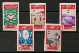 **270/74s. 1946. Serie Completa. SIN DENTAR. MAGNIFICA. Edifil 2018: +57 Euros - España
