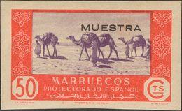 *285s. 1948. 50 Cts Rojo Y Lila (sin Dentar). MUESTRA. MAGNIFICO. - España