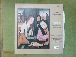 CHANT GREGORIEN - NOEL Messe De Minuit - Messe De Jour - Choeur Des Moines De L'abbaye Saint Pierre De Solesmes - Weihnachtslieder