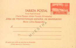 (*)EP24M. 1935. 30 Cts Rojo Sobre Tarjeta Entero Postal. Sobrecarga MUESTRA. MAGNIFICA. Edifil 2018: 145 Euros - España