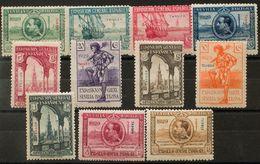 **37/47. 1929. Serie Completa. MAGNIFICA. Edifil 2020: 160 Euros - España