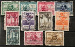 **37/47M. 1929. Serie Completa. MUESTRA. MAGNIFICA Y RARA. Edifil 2018: 360 Euros - España