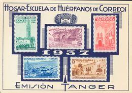 *1/5. 1937. Serie Completa, Sobre La Hoja De Presentación Y Con El Sobre Original En El Que Se Vendió. MAGNIFICA Y RARA. - España