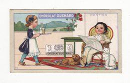 Chromo   CHOCOLAT SUCHARD   Rentier   Série 270    10.6 X 6.1 Cm - Suchard