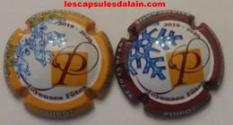 2 BELLES CAPSULES CHAMPAGNE POIROT NOEL 2019 NEWS - Collections