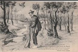Légende De Saint Saulge . Le Chasseur Des Bois De Saxi. - Humor