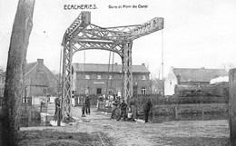 Ecacheries - Gare Et Pont Du Canal - Station - Train - Trein - Belöil