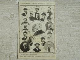 PANTHEON DE LA GUERRE                      LES AUTEURS ET LES PRINCIPAUX COLLABORATEURS       CARRIER BELLEUSE - Guerra 1914-18