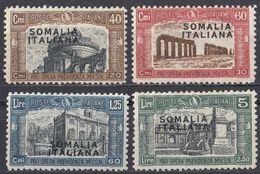 SOMALIA, COLONIA ITALIANA - 1927 - Serie Completa Di 4 Valori Nuovi MH: Yvert 102/105. - Somalia