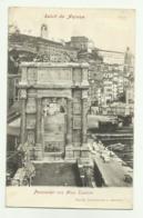 SALUTI DA ANCONA - PANORAMA CON ARCO TRAIANO 1905  VIAGGIATA FP - Ancona