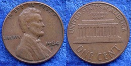 USA - 1 Cent 1964 D KM# 201 America - Edelweiss Coins - Ohne Zuordnung