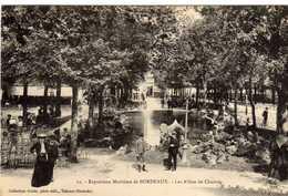 Bordeaux Exposition Maritime Les Allées De Chartres - Bordeaux