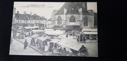 Cp 10 Aube VILLENAUXE LA GRANDE Le Marché ( Habitations Familistère Tripier Stand De Commerces Fournier Gaupin ) - Andere Gemeenten