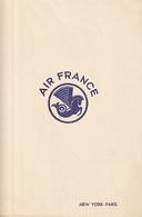 AIR FRANCE Menu Du 30 Janvier 1949 - Vieux Papiers