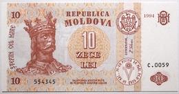 Moldavie - 10 Lei - 1994 - PICK 10a - NEUF - Moldavie