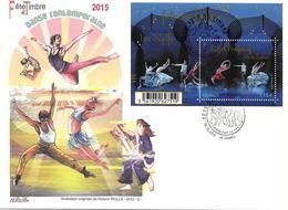 """F4983 - 4983 FÊTE DU TIMBRE 2015 """"ballet Preljocaj"""" Grande Enveloppe Nationale - 10-10-2015 ORMES (45) - FDC"""