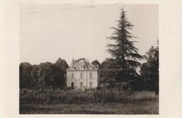 38) Carte-Photo : ECHIROLLES : Propriété - Château (scan Recto / Verso) - Echirolles