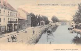 71 - MONTCEAU Les MINES : Quai Jules Chagot - Jolie CPA Village Colorisée - Saône Et Loire - Montceau Les Mines